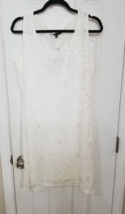 Nwt Tiana B. White Lace Dress Size Lg